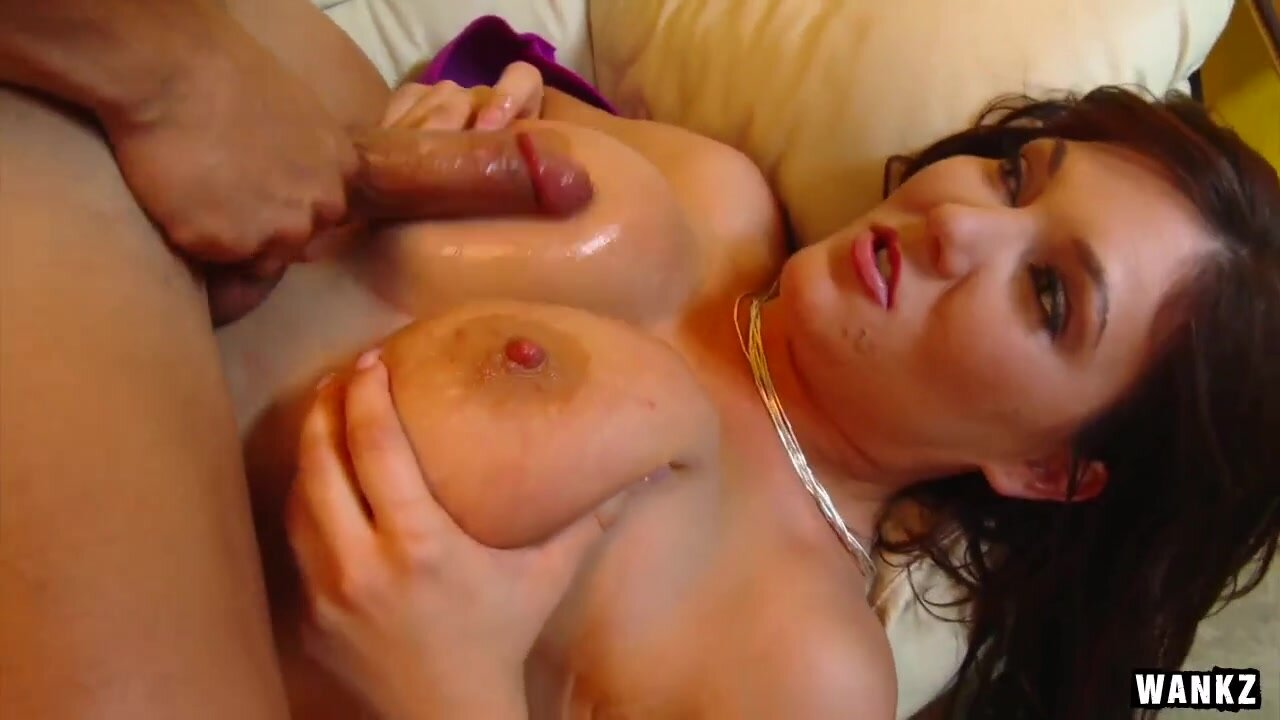 Bosomy slut Claire Dames prefer huge dongers