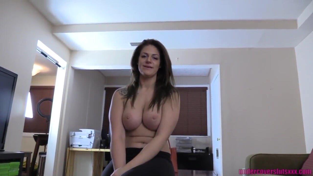 Guy blackmails stripper stepmom and makes her fuck him